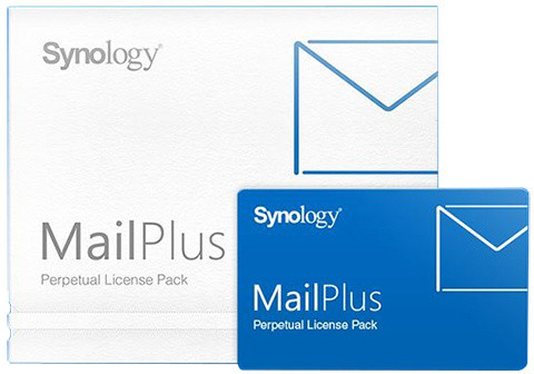Synology MailPlus 20 Licenses - kartička, lifetime