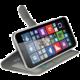 CELLY Wally pouzdro pro Microsoft Lumia 640 XL, PU kůže, bílá