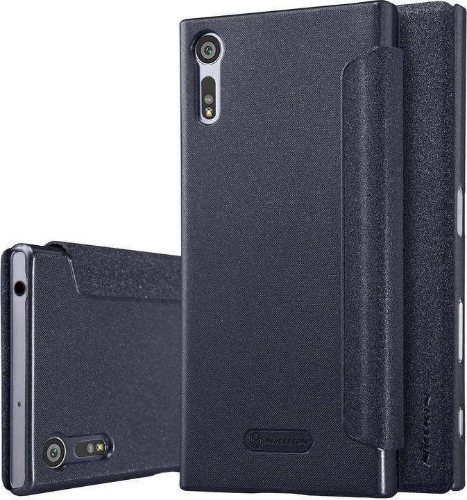 Nillkin Sparkle Folio pouzdro Black pro Sony F8331 Xperia XZ