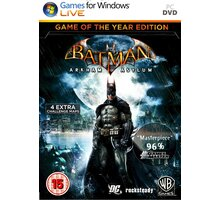 Batman: Arkham Asylum GOTY - PC - PC - 8595071031838