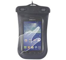 """Forever voděodolné pouzdro pro telefony 3.5"""" - 4.5"""" - černé - LCSUNIVVOMBK"""