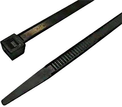 Zircon stahovací páska 2,5 x 150 mm, černá, 100ks