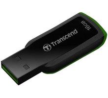 Transcend JetFlash 360 16GB, černo/zelený