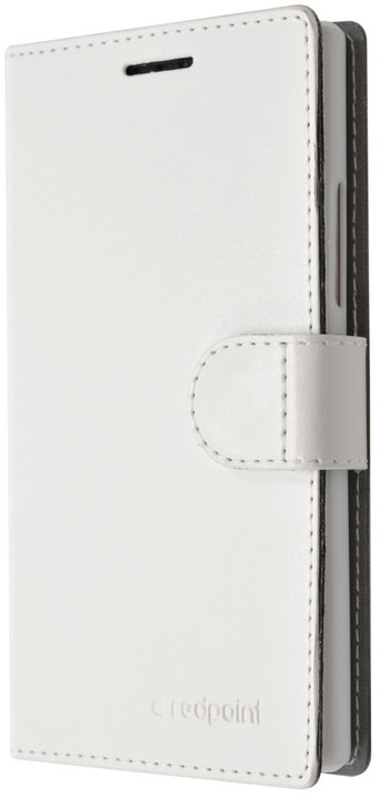FIXED FIT pouzdro pro Lenovo Vibe Shot, kolekce RedPoint, bílá