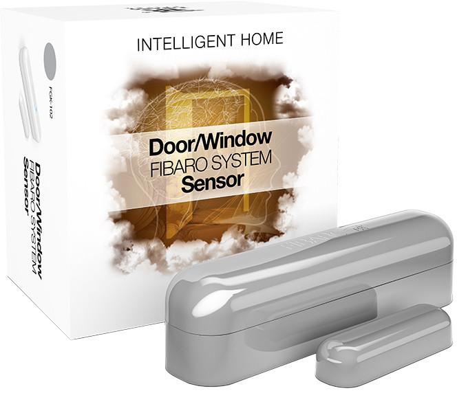 Fibaro Bateriový senzor na okna a dveře, stříbrná