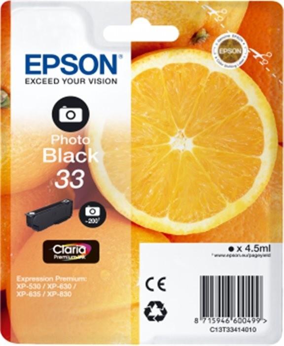 Epson C13T33414010, černá photo