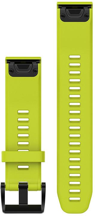 GARMIN náhradní řemínek pro Fenix 5 a Forerunner 935 QuickFit™ 22, žlutý