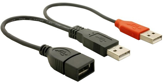 Napájecí kabel USB z 2xUSB