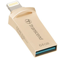 Transcend JetDrive Go 500 - 64GB, zlatá - TS64GJDG500G