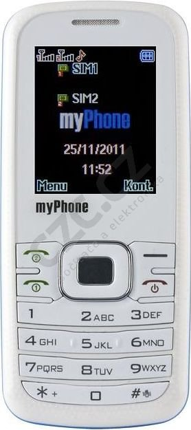 myPhone 3020i - bílý