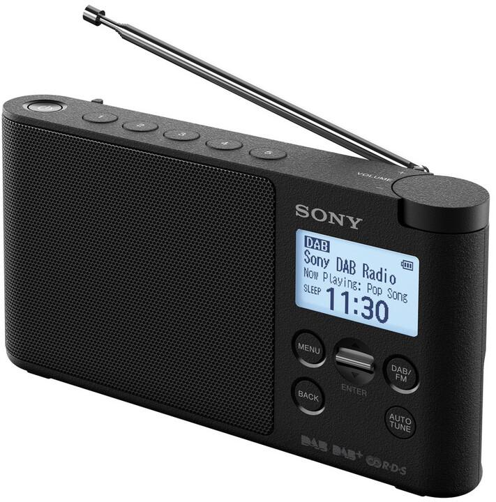 Sony XDR-S41D, černá