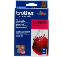 Brother LC-980M, magneta - LC980M