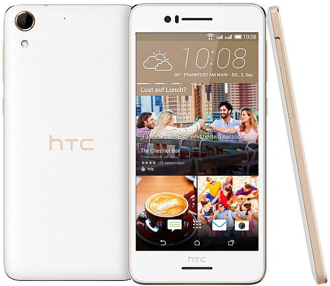 HTC Desire 728G, DualSIM, bílá