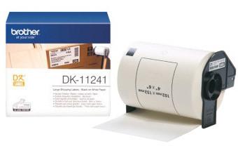 Brother DK11241 (papírové / štítky 102x152mm) - 200 ks
