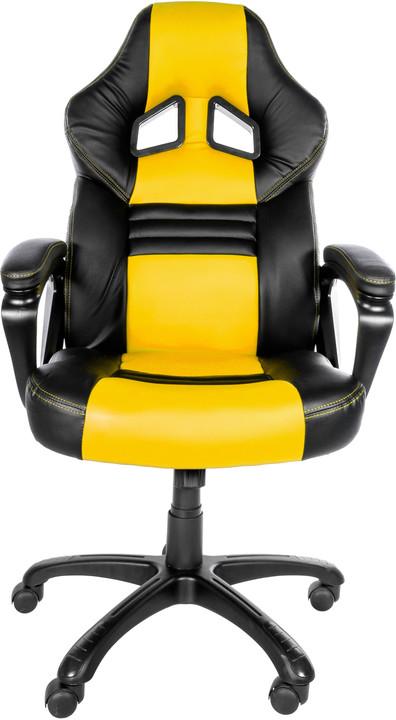 Arozzi Monza, černá/žlutá