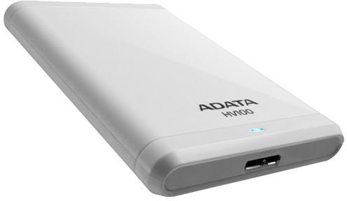 ADATA HV100 - 500GB, bílá