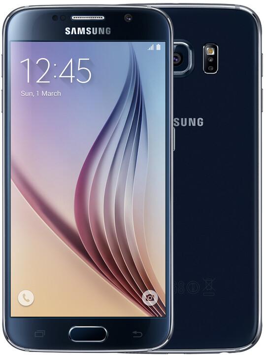 Samsung Galaxy S6 - 32GB, černá
