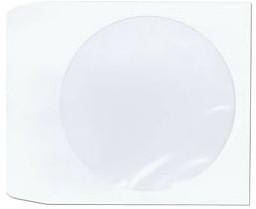 papírová obálka pro CD nebo DVD médium 100ks