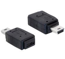 Delock USB mini samec na USB micro B samice - 65155