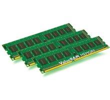 Kingston Value 24GB (3x8GB) DDR3 1333 ECC w/TS CL 9 - KVR1333D3E9SK3/24G