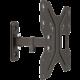 """GoGEN M držák polohovatelný, pro úhlopříčky 23"""" až 42"""", černá  + Kabel HDMI 1.4 high speed, ethernet, M/M, 1,5m, opletený, pozlacený, černá barva (v hodnotě 299,-)"""
