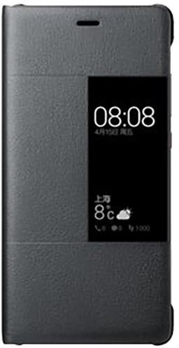 Huawei Original S-View Pouzdro Dark Grey pro P9 Plus (EU Blister)