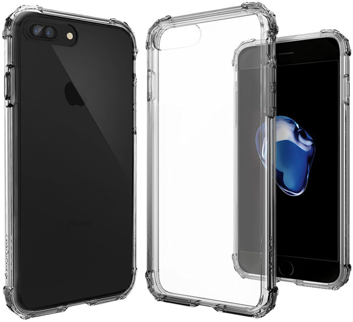 Spigen Crystal Shell pro iPhone 7+, dark crystal