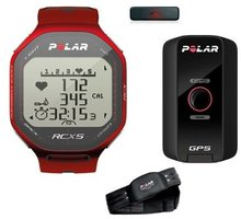 Polar RCX5 Red G5 (Multisport GPS), vč. interface DataLink - 322528