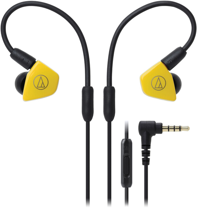 Audio-Technica ATH-LS50iS, žlutá