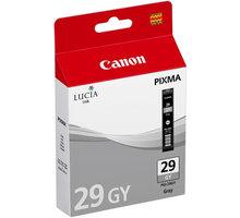 Canon PGI-29 GY, šedá - 4871B001