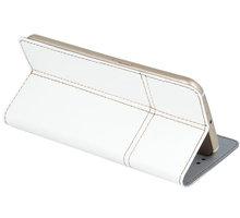 """Forever knížkové pouzdro (smartcase) typ a fold univerzální 4,8-5"""" - bílé - LCSSMUN-A5WH"""