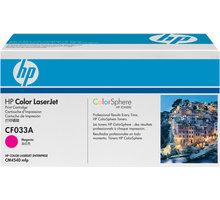 HP CF033A, purpurový
