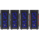 Fortron CMT210, průhledná bočnice, modrá