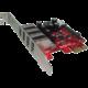 Kouwell UB-120LN PCI-E karta 4x USB3.0