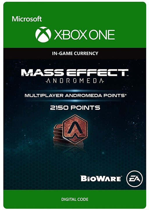 Mass Effect: Andromeda - 2150 Points (Xbox ONE) - elektronicky