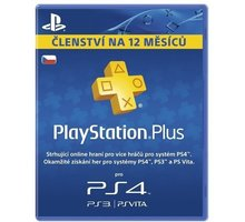 Playstation Plus Card - 365 dní - PS719807346