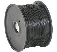 Gembird tisková struna (filament), ABS, 1,75mm, 1kg, černá - 3DP-ABS1.75-01-BK