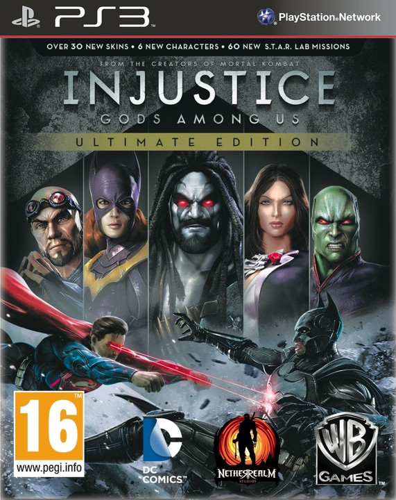Injustice: Gods Among Us Ultimate Edition - PS3