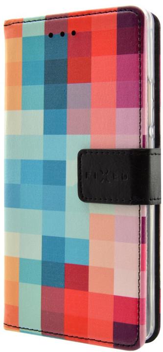 FIXED Opus pouzdro typu kniha pro Samsung Galaxy A5 (2017), motiv Dice