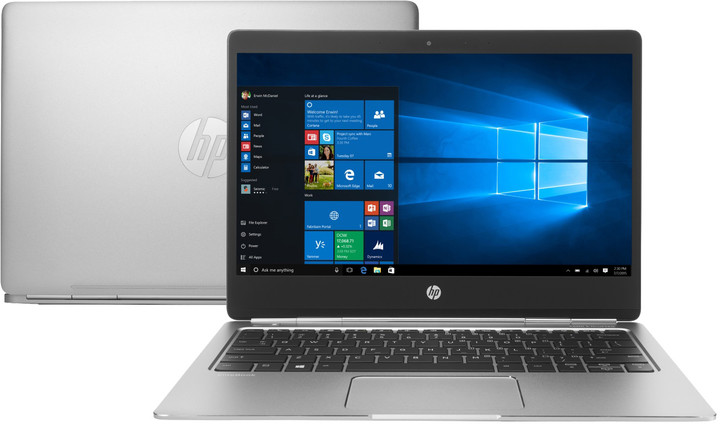 HP EliteBook Folio G1, stříbrná