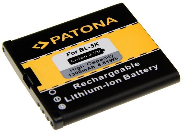 Patona baterie pro Nokia BL-5K 1300mAh 3,7V Li-Ion