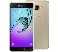 Samsung Galaxy A3 (2016) LTE, zlatá - SM-A310FZDAETL
