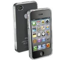 CellularLine Invisible zadní kryt pro iPhone 4/4S, průhledný + fólie - INVISIBLECIPHONE4