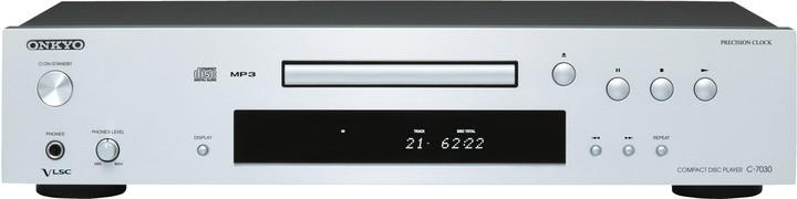 Onkyo C-7030, stříbrná