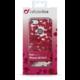 Cellularline STYLE průhledné gelové pouzdro pro Apple iPhone 5/5S/SE, motiv ROSES
