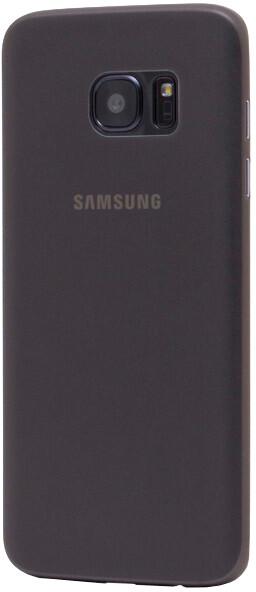 EPICO ultratenký plastový kryt pro Samsung Galaxy S7 Edge TWIGGY MATT - transparentní černá