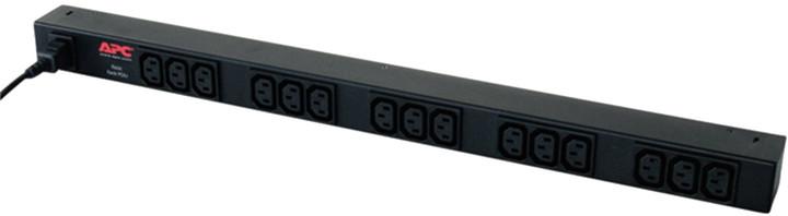 APC rack PDU, Zero U,10A,230V, (15)C13