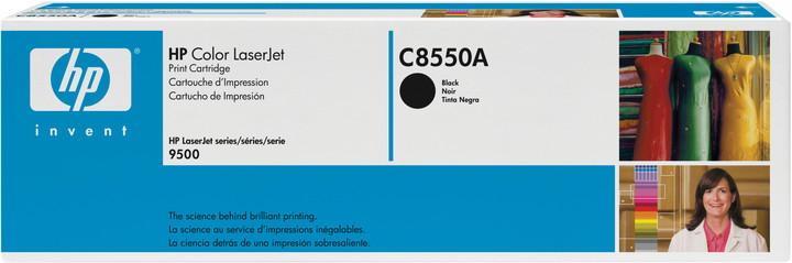 HP C8550A, černá