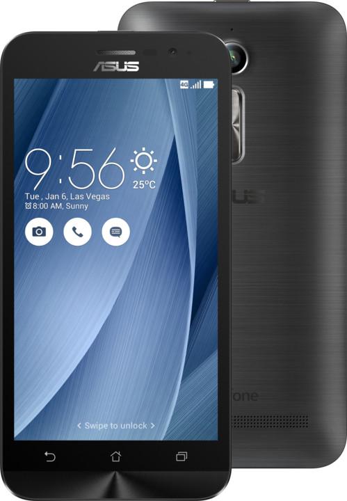 ASUS ZenFone GO ZB500KL-3H043WW, šedá