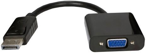 PremiumCord adaptér DisplayPort - VGA (Male/Female), 15cm